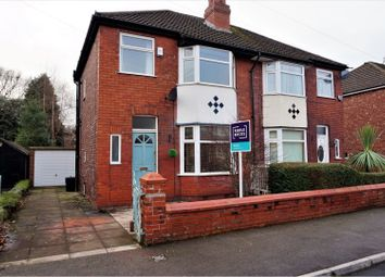 Thumbnail 3 bedroom semi-detached house to rent in Elm Road South, Stockport