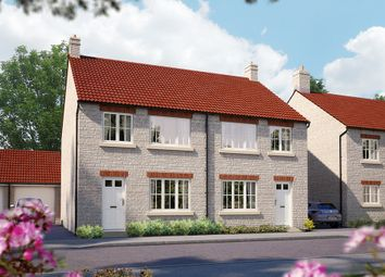 "Thumbnail 3 bedroom terraced house for sale in ""The Cranham"" at Somerton Business Park, Bancombe Road, Somerton"