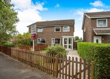 Thumbnail 3 bed semi-detached house for sale in Paddock Gardens, Attleborough
