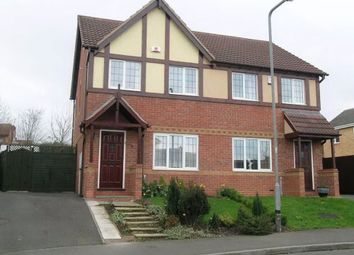 Thumbnail 3 bed semi-detached house to rent in Wembury, Amington, Tamworth, Staffordshire