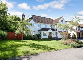 Thumbnail 5 bed detached house for sale in Hornbeam Gardens, West End, Southampton