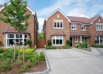 Thumbnail 4 bed semi-detached house to rent in Annaleigh Place, Rydens Grove, Hersham, Walton-On-Thames