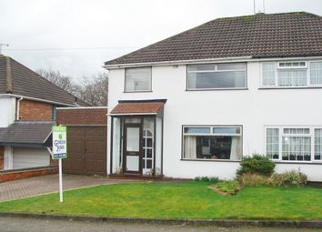 Thumbnail 3 bed semi-detached house for sale in Rea Ave, Rubery