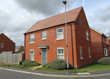 Thumbnail 3 bed detached house for sale in Meteor Drive, Lutterworth