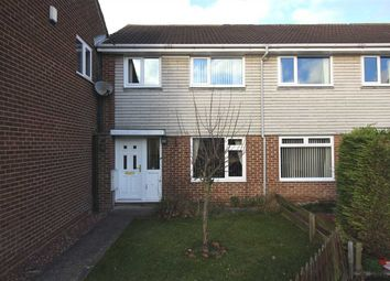 Thumbnail 3 bedroom terraced house to rent in Shiel Gardens, Beaconhill Green, Cramlington