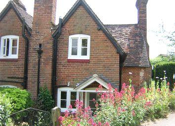 Thumbnail 2 bed semi-detached house to rent in Beedon, Newbury, Berkshire
