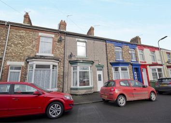 Thumbnail 2 bed terraced house for sale in Fox Street, Stockton-On-Tees, Durham