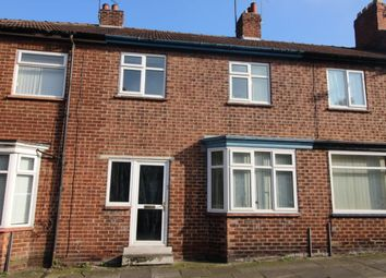Thumbnail 3 bed terraced house to rent in Bartlett Street, Darlington
