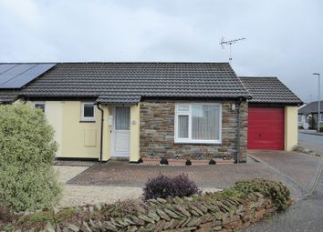 Thumbnail 1 bed semi-detached bungalow for sale in Trehannick Close, St Teath, Bodmin
