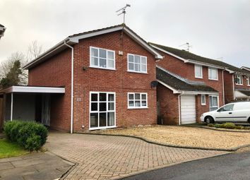 Thumbnail 4 bed detached house for sale in Yarmouth Close, Toothill, Swindon