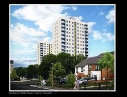 Thumbnail 3 bed flat to rent in Crete Towers, Jason Street, Liverpool
