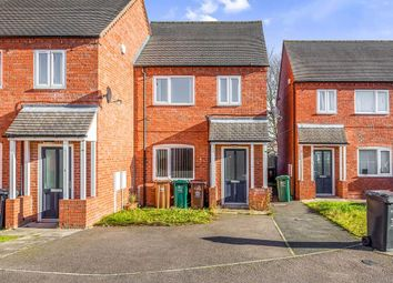 Thumbnail 3 bed terraced house to rent in Colliers Close, Newhall, Swadlincote
