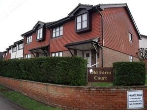 Thumbnail 2 bed flat to rent in Old Farm Court, Perry Street, Billericay