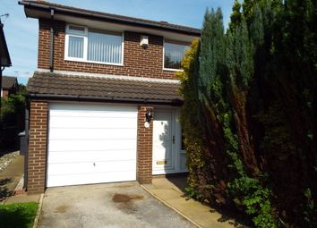 Thumbnail 3 bedroom detached house to rent in Cadshaw Close, Birchwood, Warrington