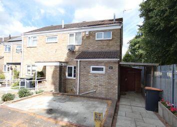 Thumbnail 2 bed semi-detached house to rent in Newbury Close, Kempston, Bedford