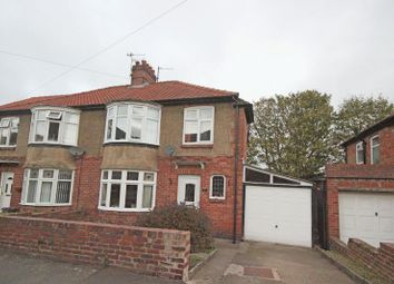 Thumbnail 3 bed semi-detached house for sale in Bywell Avenue, Hexham