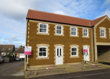 Thumbnail 3 bed end terrace house for sale in Church Road, Downham Market