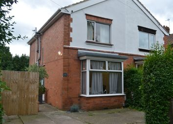 Thumbnail 3 bed semi-detached house to rent in Park Crescent, Newark