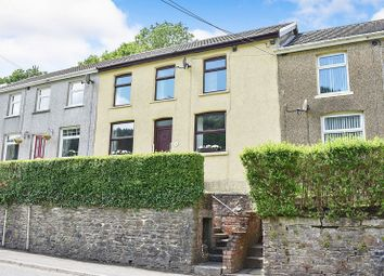 Thumbnail 3 bed terraced house for sale in Cemetery Road, Ogmore Vale, Bridgend.