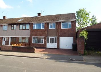 Thumbnail 4 bedroom end terrace house for sale in Charlewood Road, Whitmore Park, Coventry, West Midlands