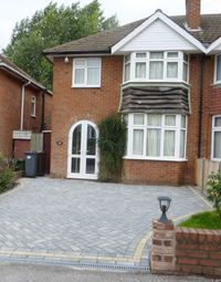Thumbnail 1 bed semi-detached house to rent in Berkeley Road, Solihull