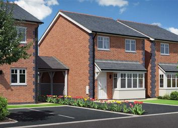 Thumbnail 3 bedroom detached house for sale in Plot 11 Heritage Green, Heritage Green, Forden, Welshpool, Powys