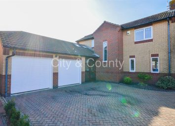 Thumbnail 4 bed detached house for sale in Glenfields, Whittlesey, Peterborough