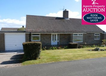 Thumbnail 3 bed bungalow for sale in Meadow Riggs, Alnwick