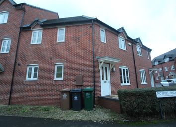 Thumbnail 3 bed town house to rent in Nothill Road, Hilton, Derbyshire