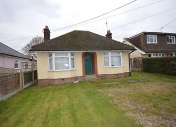 Thumbnail 3 bed bungalow to rent in Vicarage Road, Roxwell, Chelmsford