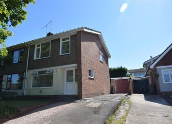 Thumbnail 3 bed semi-detached house to rent in Harrow Close, Caerleon, Newport