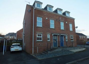 Thumbnail 3 bed semi-detached house for sale in Cricklewood Drive, Tunstall, Stoke-On-Trent