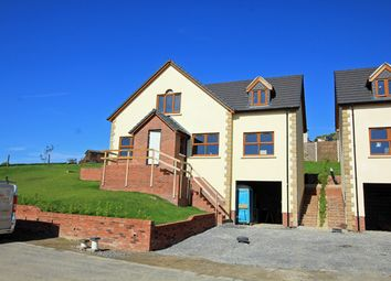 Thumbnail 4 bed detached house for sale in New House Plot 1, Trem Y Cwm, Llangynin, St. Clears, Carmarthenshire