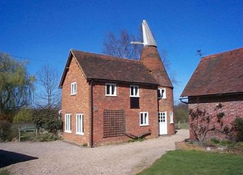 Thumbnail 2 bed detached house to rent in Cinder Hill Lane, Leigh, Tonbridge
