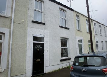 Thumbnail 3 bed terraced house to rent in Edgeware Road, Uplands, Swansea.