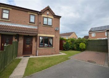 Thumbnail 3 bed semi-detached house for sale in Andersen Court, Castleford, West Yorkshire