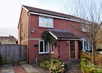Thumbnail 3 bed semi-detached house for sale in Lynmouth Close, Hemlington, Middlesbrough