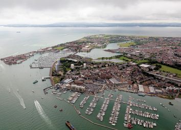 Thumbnail 2 bed flat for sale in Huxley Way, Gosport