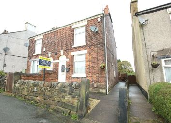 Thumbnail 2 bed semi-detached house for sale in Mow Lane, Gillow Heath, Stoke-On-Trent