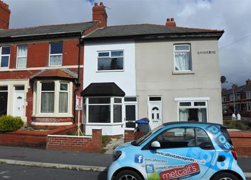 Thumbnail 2 bed terraced house for sale in Sherbourne Road, Blackpool