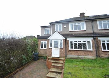 Thumbnail 5 bed semi-detached house to rent in Waddington Avenue, Coulsdon, Surrey