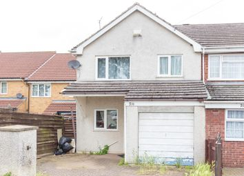 Thumbnail 3 bed end terrace house for sale in Brickhill Road, Wellingborough