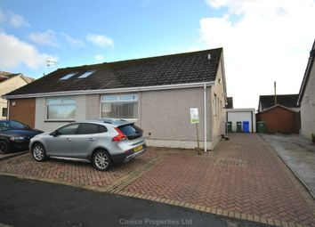 Thumbnail 2 bed semi-detached bungalow for sale in Hunter Road, Crosshouse