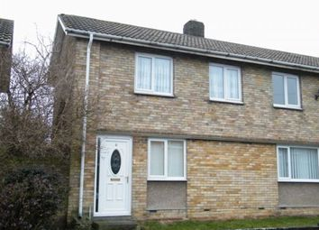 Thumbnail 3 bed end terrace house to rent in South View, Pegswood, Morpeth