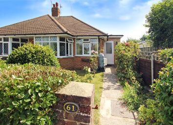 Thumbnail 2 bed bungalow for sale in Chaucer Avenue, Rustington, Littlehampton