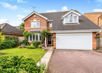 Thumbnail 4 bed detached house for sale in Whitesands Way, Northampton