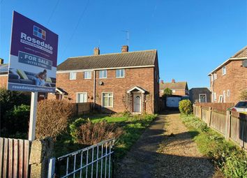 Thumbnail 3 bed semi-detached house for sale in The Crescent, Eye, Peterborough, Cambridgeshire