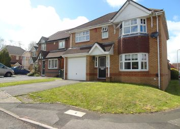 Thumbnail 4 bed detached house for sale in Patreane Way, Culverhouse Cross, Cardiff