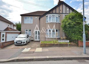 Thumbnail 4 bed semi-detached house for sale in Ashley Avenue, Ilford