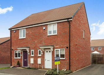 Thumbnail 2 bed semi-detached house for sale in Viscount Way, Market Deeping, Peterborough
